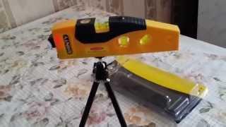 Необходимый в ремонте Лазерный уровень с рулеткой от компании centr-tovarov. ru - видео 1