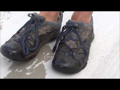 KEEN Shoes Waterproof Test After 465-Days of Travel