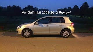 Vw Golf mk6 2008-2013 Review/Test drive Pov 60FPS