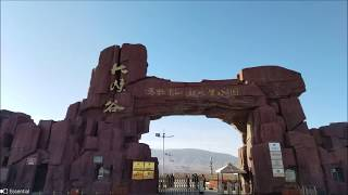 preview picture of video 'Silk Road Trip To Zhangye Danxia Geopark & Pingshan Lake Valley 張掖   Parrot ANAFI'