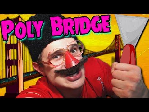 ПАПКА МОСТОВ -||- Poly Bridge