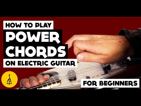 How To Play Power Chords On Electric Guitar For Beginners (And The Major Scale!)