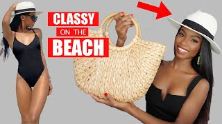 How To Look Classy On The Beach ( 7 Pieces  You Need)