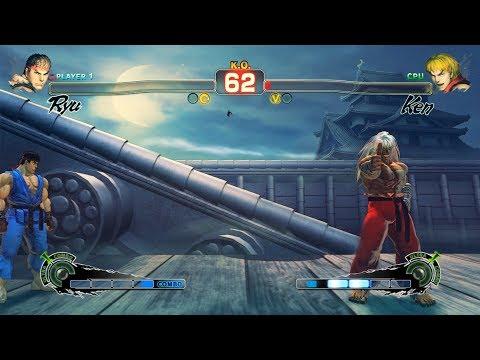 Ultra Street Fighter IV Ryu vs Ken PC Mod