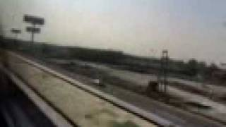preview picture of video 'Max Speed 431 kmh Transrapid  MAGLEV  Magnet Train running'
