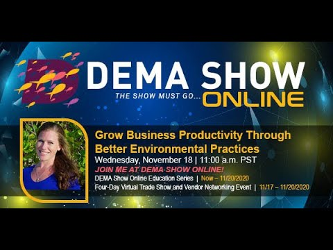 , title : 'DEMA Grow Your Business Through Better Enviornmental Practices