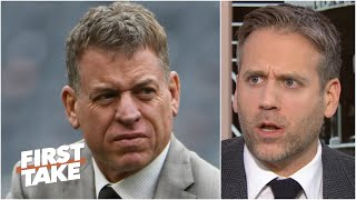 Troy Aikman wants to be the Cowboys' GM, but Jerry Jones is in the way - Max Kellerman | First Take