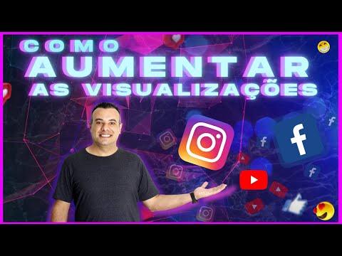 Como Aumentar as Visualizaes no Instagram Facebook YouTube  Redes Sociais
