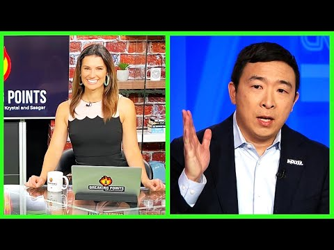 Krystal Ball Questions Andrew Yang's 3rd Party To His Face