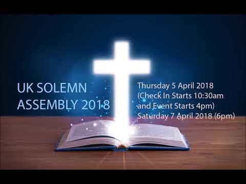 UK SOLEMN ASSEMBLY 2018