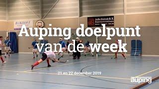 Auping Doelpunt van de Week: 21 en 22 december 2019