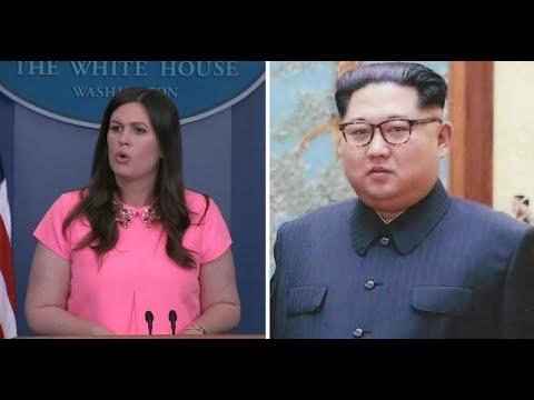 Trump Joked About Sarah Huckabee Sanders Sleeping w/ Kim Jong Un