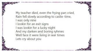 Chris Garneau - Castle-Time Lyrics