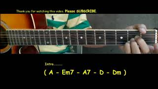 Cuco Keeping Tabs (feat. Suscat0) Guitar Chords Tutorial