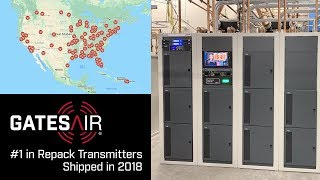GatesAir Leads 2018 in Repack Transmitters Shipped
