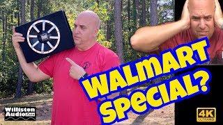 What's Inside a Cheap Walmart Subwoofer? Dual TBX10A Powered Subwoofer [4K]