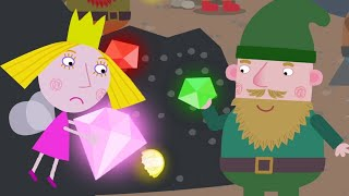 Ben and Holly's Little Kingdom Full Episodes 💎 The Dwarf Mine  💎 Kids Videos