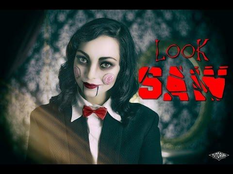 Maquillaje de Saw - Look para fiesta de disfraces - Saw make up