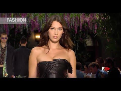 VERSACE Spring Summer 2019 Menswear Milan - Fashion Channel