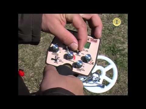 Tesoro Cortes video review... видеообзор металлоискателя