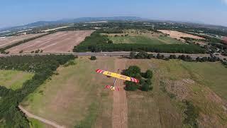 Chasing an rc plane with dji fpv