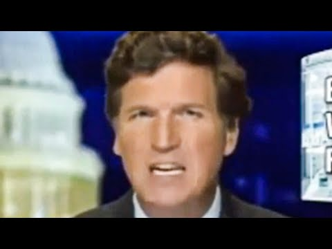 Tucker Begs Us to FEAR The Vaccine