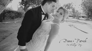 Diana + Patrick's Wedding Highlights at Ritz Celebration and st Leon Church