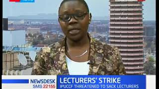 UASU and KUSU fault Jubilee government over the ongoing university lecturers and staff strike