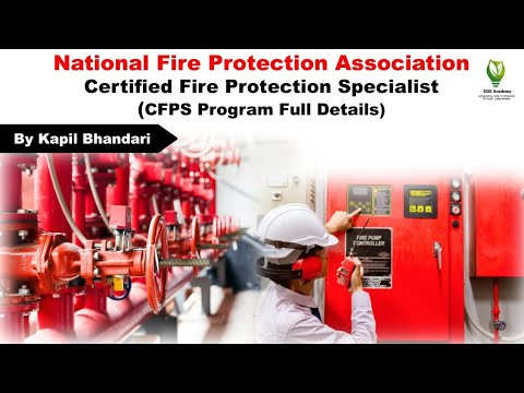 Know About CFPS (Certified Fire Protection Specialist) Certification ...