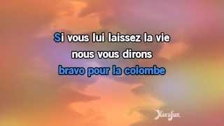 Karaoké Bravo, Monsieur le monde - Michel Fugain *