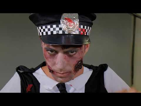 Hinter den Kulissen unseres Fotostudios..... Halloween: Zombie