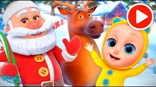 С новым годом! 🎅Jingle Bells - Christmas Song | Nursery Rhymes на русском!