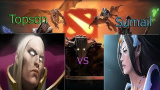 OG vs EG - Topson INVOKER REVENGE vs Sumail Mirana - HISTORY REPEAT 2-1 - ti9 the international 9