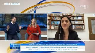 Mirëmëngjesi Kosovë - Drejtpërdrejt - Erblina Dinarama 25.11.2020
