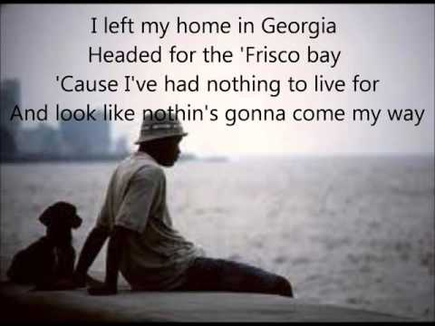 Sittin' on the dock of the bay +  lyrics
