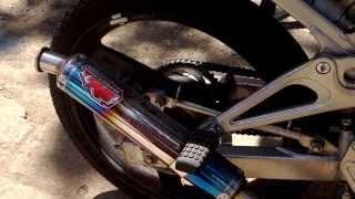 R9 New Mugello Stainless Ninja 150 SS Yellow