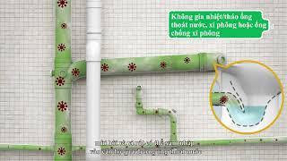 Tại sao không nên gia nhiệt đường ống thoát nước?