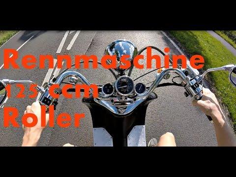 125 ccm - Retro Roller ZNEN - Beschleunigung 0-85 Km/h