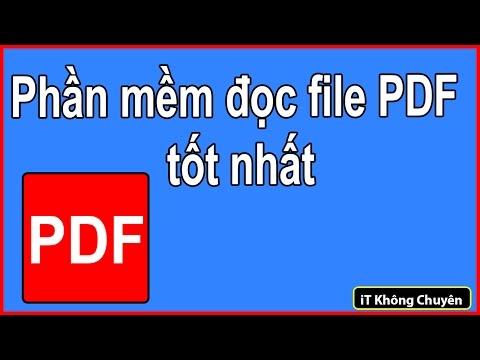 Giới thiệu phần mềm đọc file PDF tốt nhất FoxitReader, phần mềm xem ebook   iT Không Chuyên