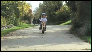 Balance Bike Demonstration by 3 Year Olds