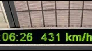 Video : China : The MagLev train in ShangHai 上海