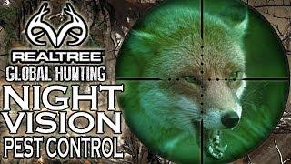 Extreme Night Vision Fox & Rabbit Shooting With The NiteSite Wolf