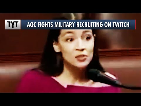 AOC vs The Military's SHADY Twitch Recruiting Tactics