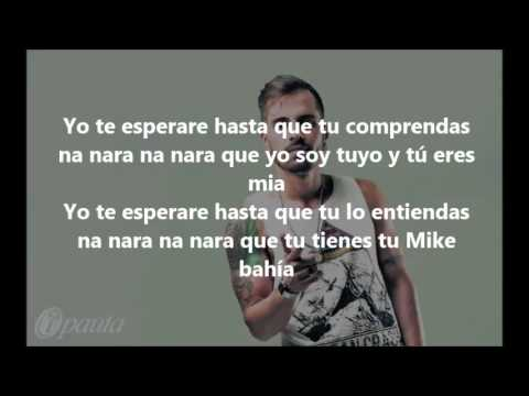 Estar Contigo -  Mike Bahia (Letra)