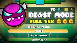 BEAST MODE FULL VERSION !!! - GEOMETRY DASH 2.11 !!