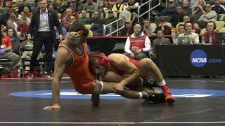 Cornell Wrestling – All-American Vitali Arujau