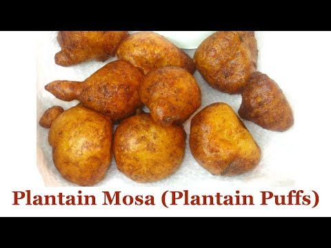 Download Plantain Mosa (Plantain Puffs) | All Nigerian Recipes HD Mp4 3GP Video and MP3