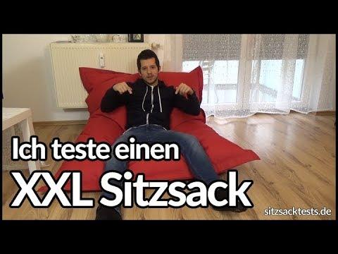 XXL Sitzsack im Test - Lumaland Riesensitzsack - sitzsacktests.de