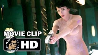 GHOST IN THE SHELL Extended Movie Clip - Building Jump (2017) Scarlett Johansson Sci-Fi Movie HD