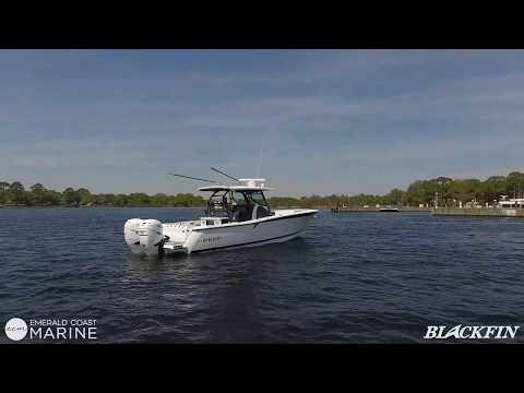 Blackfin 332 CC video